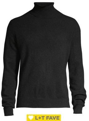 Black & Brown Black Brown Cashmere Turtleneck Sweater