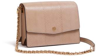 52a8edd1faa5 Tory Burch ROBINSON SNAKE CONVERTIBLE SHOULDER BAG