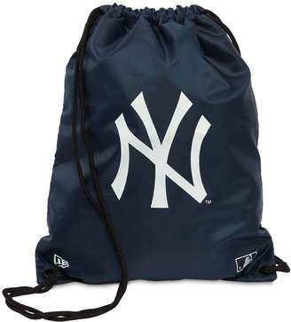 New Era Ny Yankees Mlb Drawstring Backpack