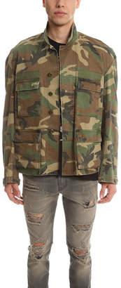 R 13 Misfit Camo Field Jacket