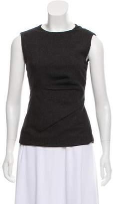 Calvin Klein Collection Wool Blend Sleeveless Top