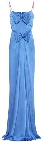 Gucci Embellished satin gown