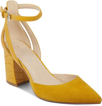 Marc Fisher Raie Block-Heel Pumps Women Shoes