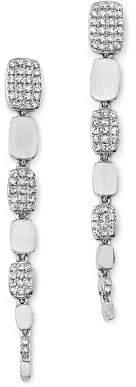 KC Designs Diamond Graduated Drop Earrings in 14K White Gold, .40 ct. t.w.