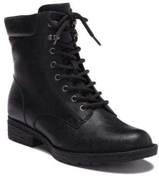 Børn Bay Leather Lace-Up Boot