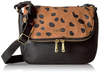 Fossil Women's Preston Small Flap Bag Cross Body Handbag $124.60 thestylecure.com