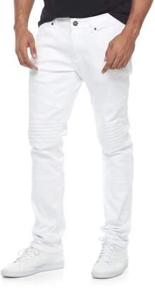 Moto Rawx Men's RawX Slim-Fit Embossed Stretch Jeans