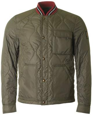 Belstaff Haverford Quilted Knit Collar Jacket