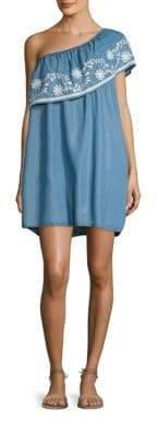 Rebecca Minkoff Rita One Shoulder Dress