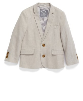 Toddler Boy's Appaman Linen Suit Jacket $101 thestylecure.com