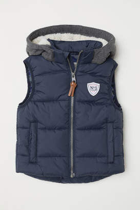 H&M Padded Vest - Blue