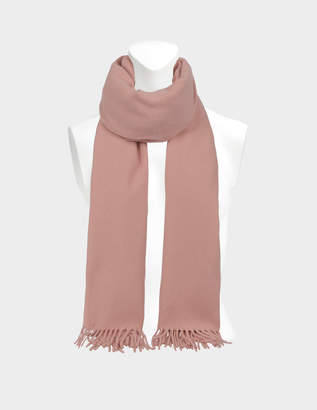 Acne Studios 180X70 Canada Scarf in Pale Pink Wool