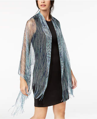 INC International Concepts I.N.C. Space-Dyed Metallic Wrap, Created for Macy's