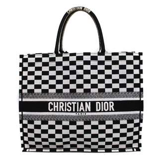 Christian Dior Book Tote cloth handbag