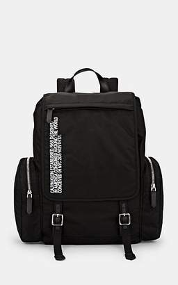 Calvin Klein Men's Flap Backpack - Black