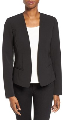 Petite Women's Halogen Open Front Jacket $99 thestylecure.com