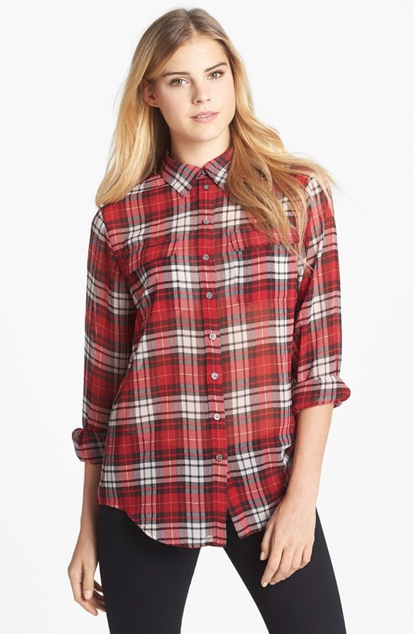 Vince Camuto Two by Plaid Boy Shirt