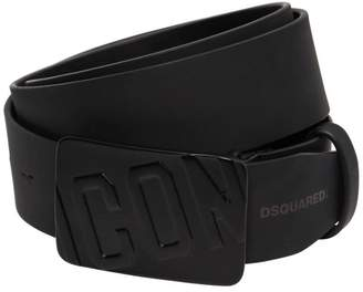DSQUARED2 40mm Icon Leather Belt