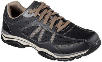 Skechers Mens Rovato Oxford Shoes Lace-up