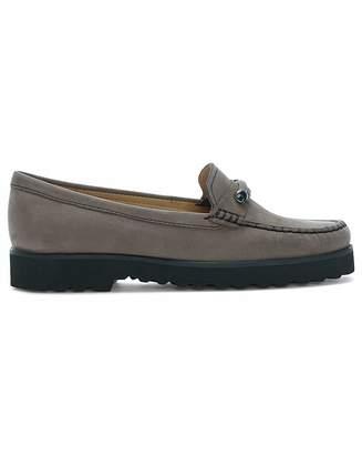 Daniel Footwear Daniel Galloway Suede Metal Bar Loafers