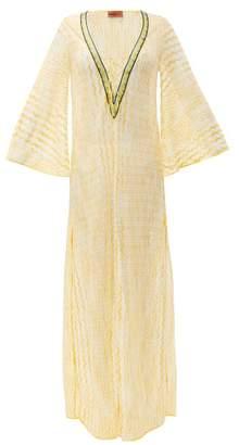 Missoni Mare - Zigzag Knit Kaftan - Womens - Yellow
