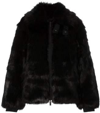 Nike x AMBUSH reversible faux fur bomber jacket
