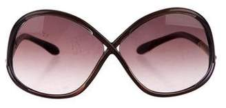 Tom Ford Ivanna Gradient Sunglasses