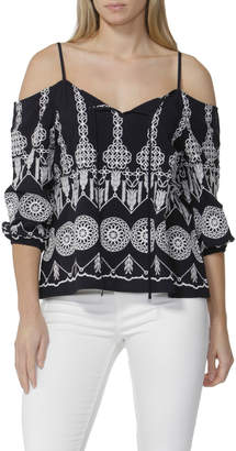 Sass Tasha Embroidered Blouse