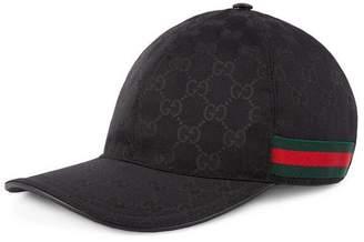 985fd00cd9d Gucci Original GG canvas baseball hat with Web