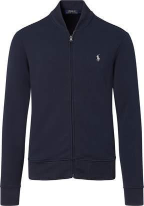 Ralph Lauren Double-Knit Bomber Jacket