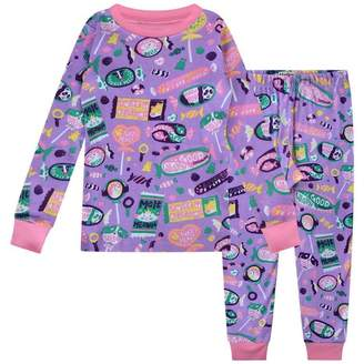 Hatley HatleyGirls Kitty Candy Long Sleeve Pyjama Set