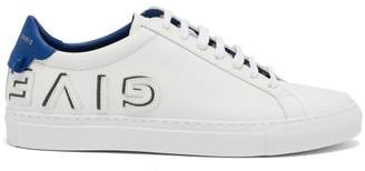 Givenchy Urban Street Low Top Leather Trainers - Womens - Blue White
