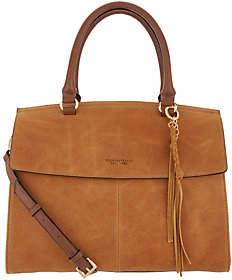 Tignanello Italia Leather Convertible SatchelHandbag -Carson