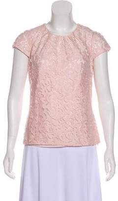 Milly Lace Short Sleeve Top