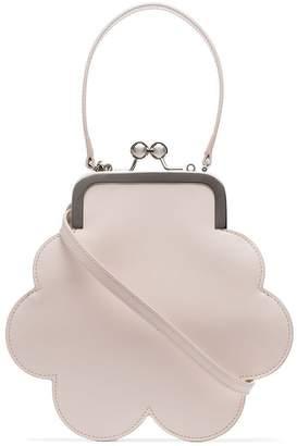 Simone Rocha off-white Cloud mini leather bracelet bag