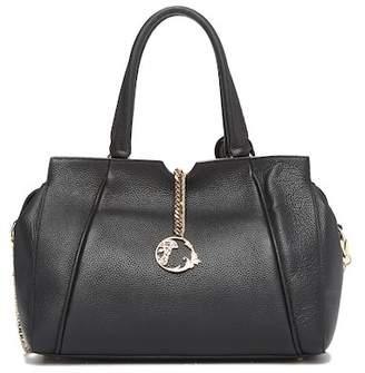 Versace Medusa Chain Leather Satchel