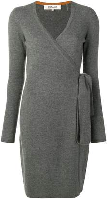 Diane von Furstenberg cashmere wrap-around dress
