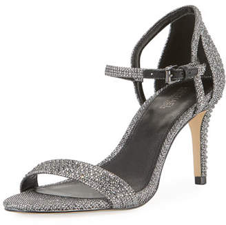 MICHAEL Michael Kors Simone Glitter Chain Mesh Sandals