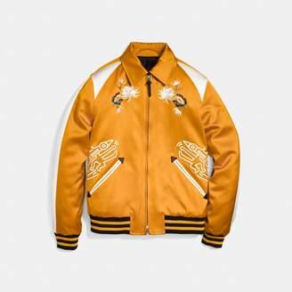 Coach X Keith Haring Skater Souvenir Varsity Jacket
