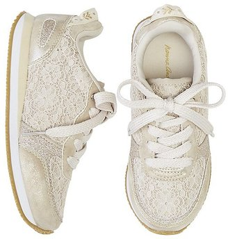 Hanna Girls Magda Lace Joggers $49 thestylecure.com
