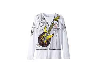 Stella McCartney Barley Guitar Rocker Long Sleeve Tee (Toddler/Little Kids/Big Kids)