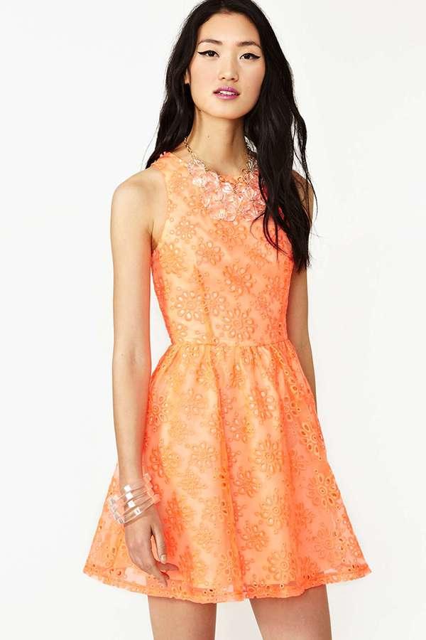 Nasty Gal Blinded Love Dress