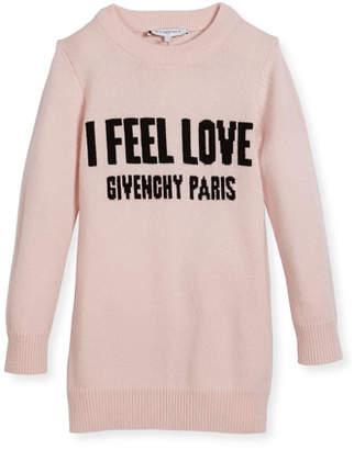 Givenchy I Feel Love Knit Dress, Size 6-10