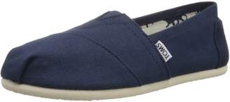 Toms Women's Classic Canvas Natural Ankle-High Flat Shoe - 6.5M