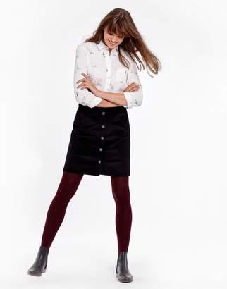 Joules Clothing Black Harper Skirt