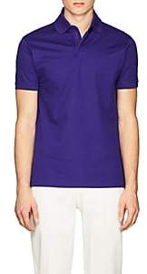 Ralph Lauren Purple Label MEN'S SLIM COTTON PIQUÉ POLO SHIRT-BLUE SIZE XL