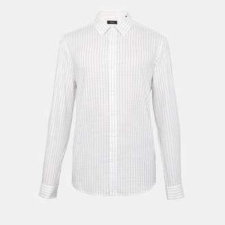 Theory Cotton Space-Dyed Clean Shirt