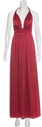 LoveShackFancy Halter Maxi Dress