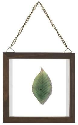 "Threshold 6""x6"" Single Leaf Framed Wall Poster Print Green"
