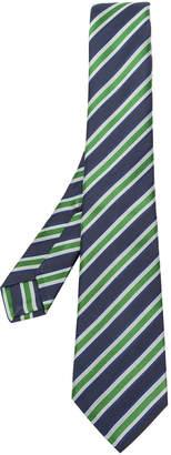 Kiton striped pattern tie
